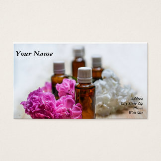 Essential Oil Business Cards