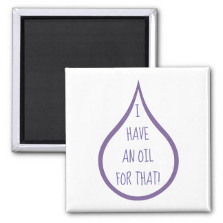 Essential Oil Drop Clever Quote Funny Magnet