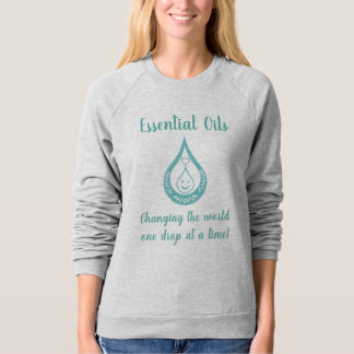 Essential Oil Drop Clever Quote T-shirt