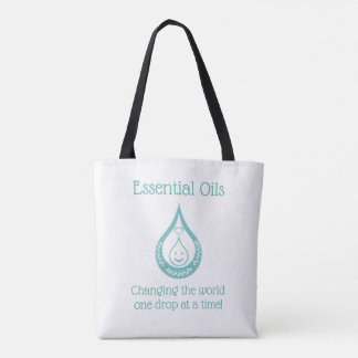 Essential Oil Drop Clever Quote Tote Bag