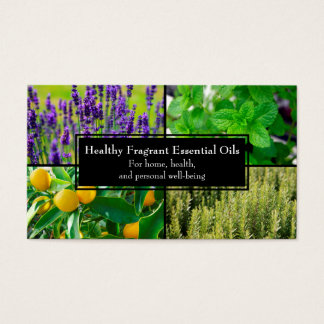 Essential Oil Business Cards and Business Card Templates