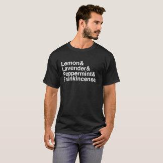 Essential Oils Lineup T-Shirt