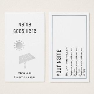 """Essential"" Solar Business Cards"