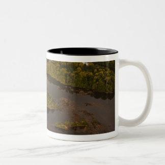 Essequibo River, longest river in Guyana, and 4 Two-Tone Coffee Mug