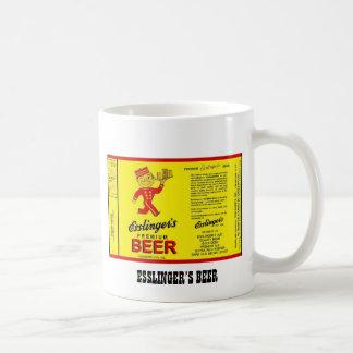 ESSLINGER'S BEER COFFEE MUG PHILADELPHIA PENN