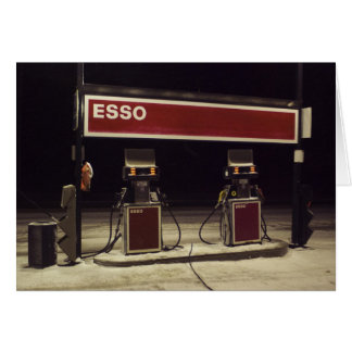 Esso Station Greeting Card