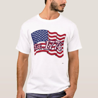 Est. 1776 USA Flag T-Shirt