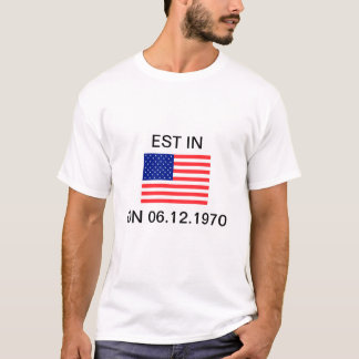 EST In United States T-shirt