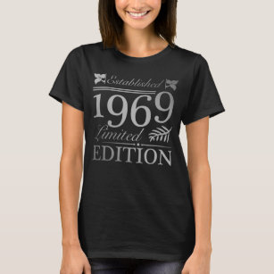 Established 1969 50th Birthday T Shirt