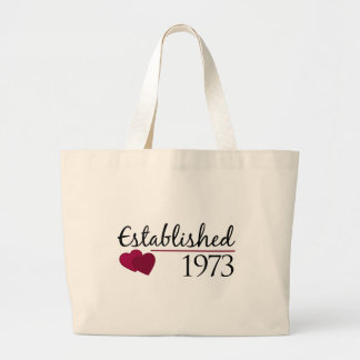 Established 1973 jumbo tote bag