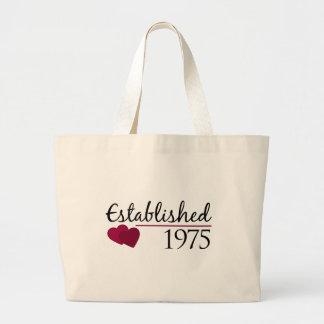Established 1975 tote bags