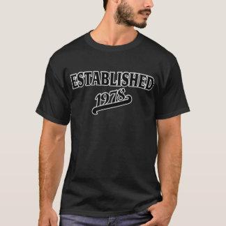 Established 1978 T-Shirt