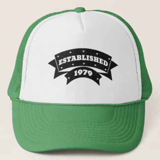 Established 1979 Hats Caps