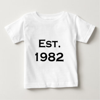 established 1982 baby T-Shirt