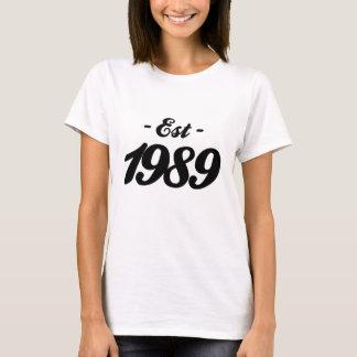 established 1989 - birthday T-Shirt