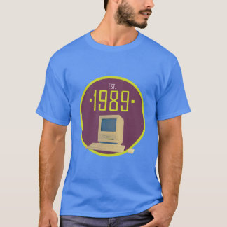 Established 1989 - Retro Computer T-Shirt
