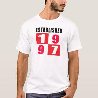 Established 1997 Birthday Designs T-Shirt