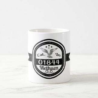 Established In 01844 Methuen Coffee Mug