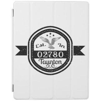 Established In 02780 Taunton iPad Cover