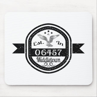 Established In 06457 Middletown Mouse Pad