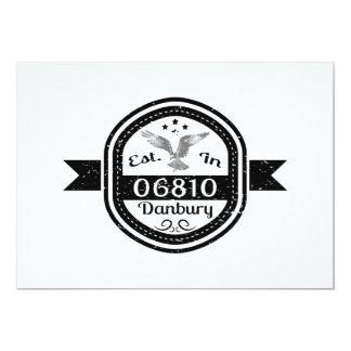 Established In 06810 Danbury Card