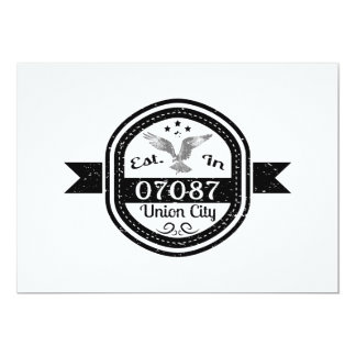 Established In 07087 Union City Card