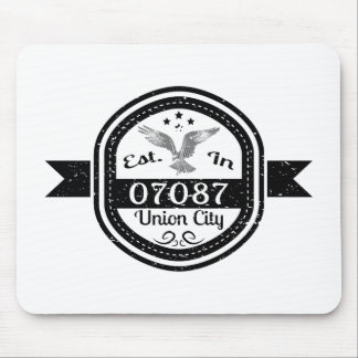 Established In 07087 Union City Mouse Pad