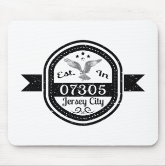 Established In 07305 Jersey City Mouse Pad