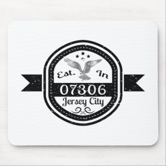 Established In 07306 Jersey City Mouse Pad