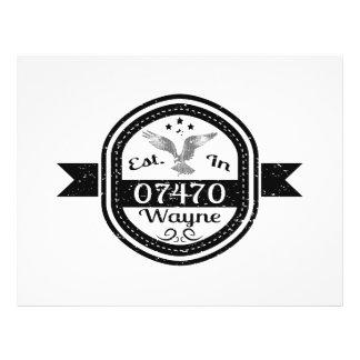 Established In 07470 Wayne Flyer