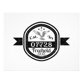 Established In 07728 Freehold Custom Flyer