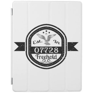 Established In 07728 Freehold iPad Cover