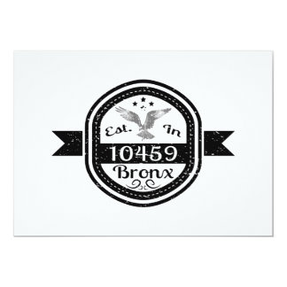 Established In 10459 Bronx Card