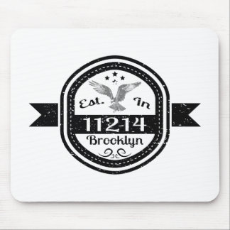 Established In 11214 Brooklyn Mouse Pad