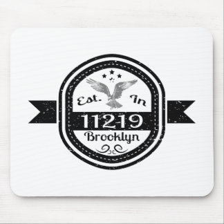 Established In 11219 Brooklyn Mouse Pad