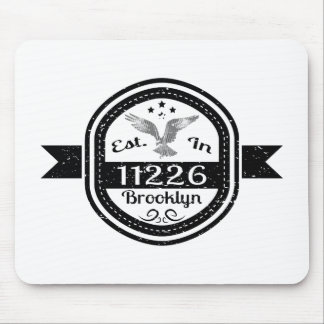 Established In 11226 Brooklyn Mouse Pad