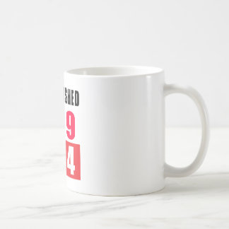 Established in 1924 coffee mug