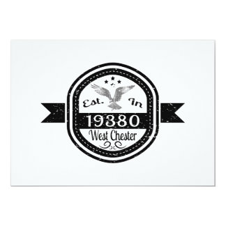 Established In 19380 West Chester Card