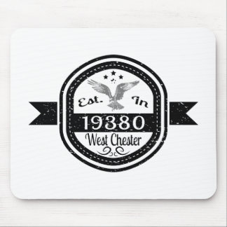 Established In 19380 West Chester Mouse Pad