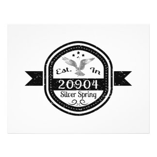 Established In 20904 Silver Spring Flyer