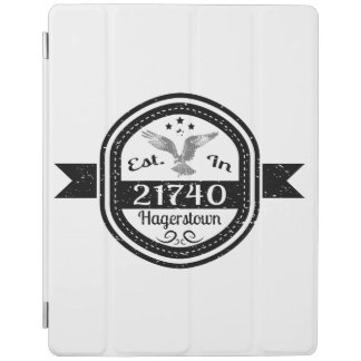 Established In 21740 Hagerstown iPad Cover