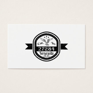 Established In 27284 Kernersville Business Card