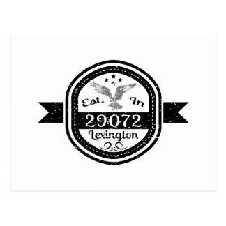 Established In 29072 Lexington Postcard
