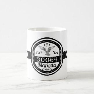 Established In 30064 Marietta Coffee Mug
