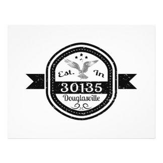 Established In 30135 Douglasville Flyer