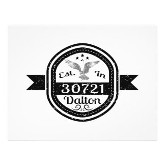 Established In 30721 Dalton Flyer