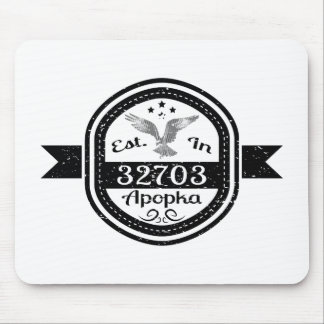 Established In 32703 Apopka Mouse Pad