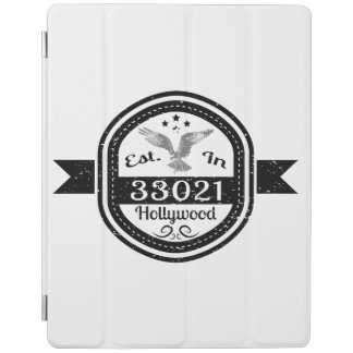 Established In 33021 Hollywood iPad Cover