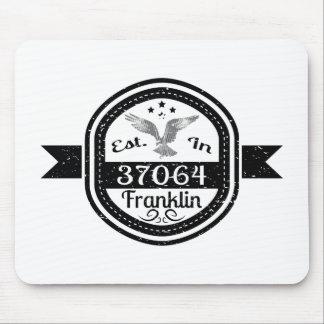 Established In 37064 Franklin Mouse Pad