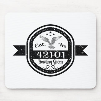 Established In 42101 Bowling Green Mouse Pad